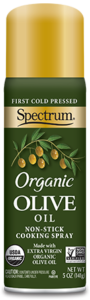 Organic Extra Virgin Olive Oil Non-Stick Cooking Spray
