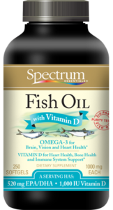 Fish Oil with Vitamin D Softgels